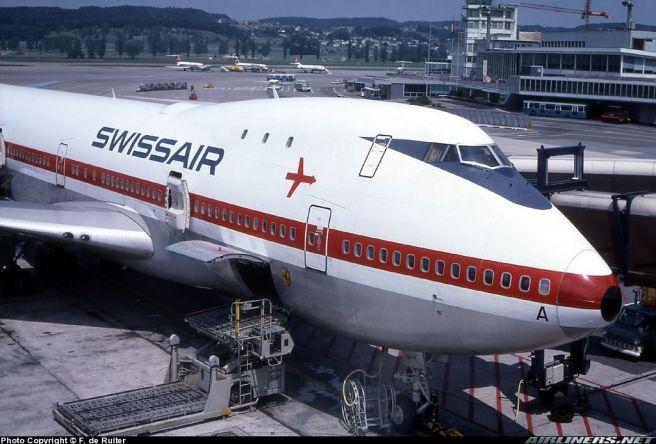 Jumbo Jet Swissair